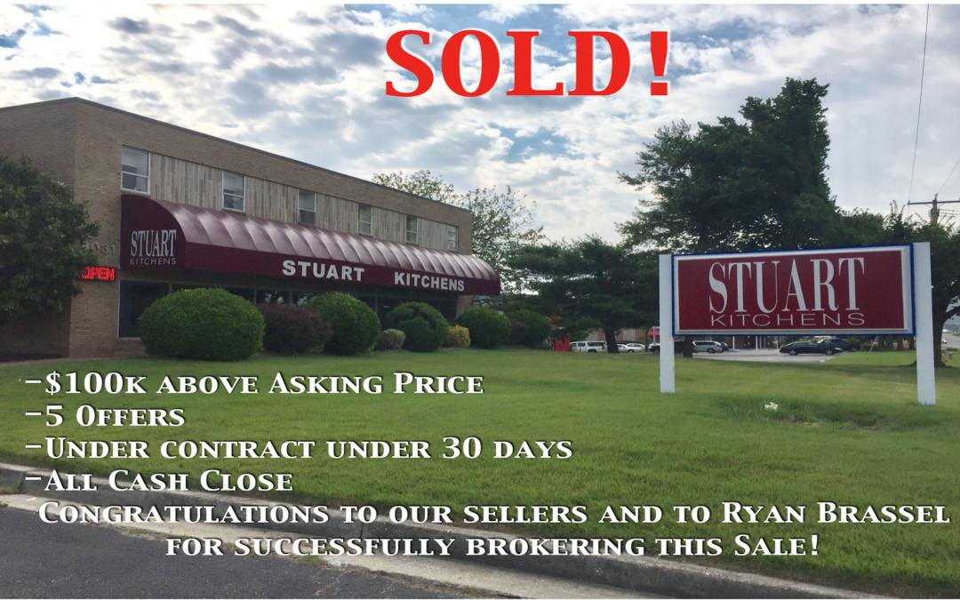 Stuart Kitchens Building Sells To Investor For $100K Over Ask!